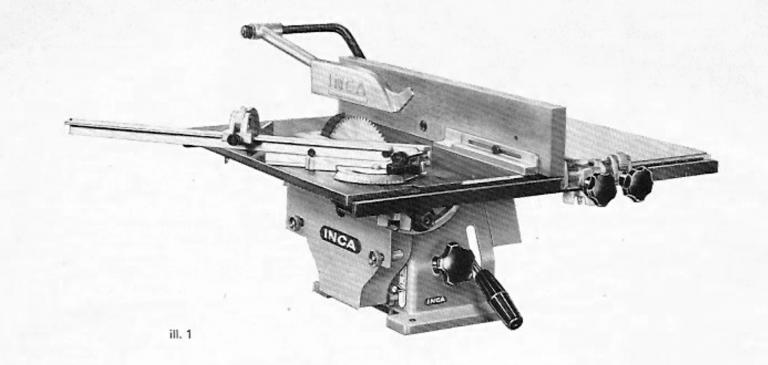 Inca Universal Compact Table Saw