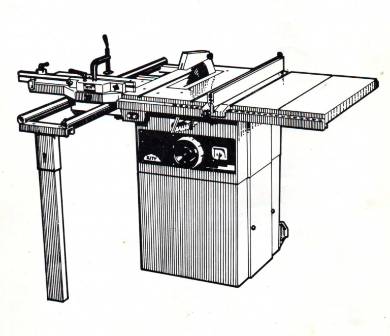 Kity 618 Table Saw