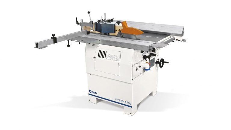 SCM Minimax S 26 Genius Combo Machine