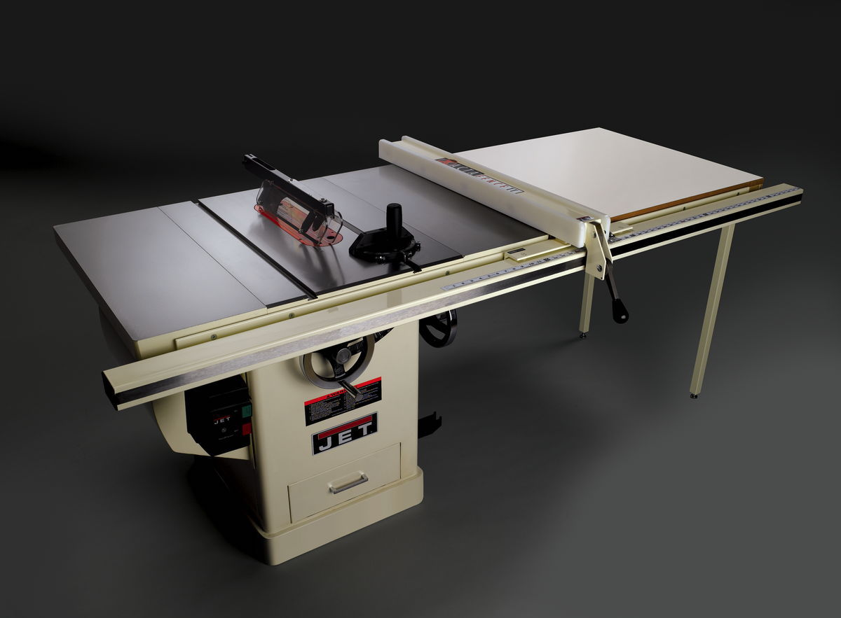 JET Table Saw Deluxe Xacta with Extension Table Nice