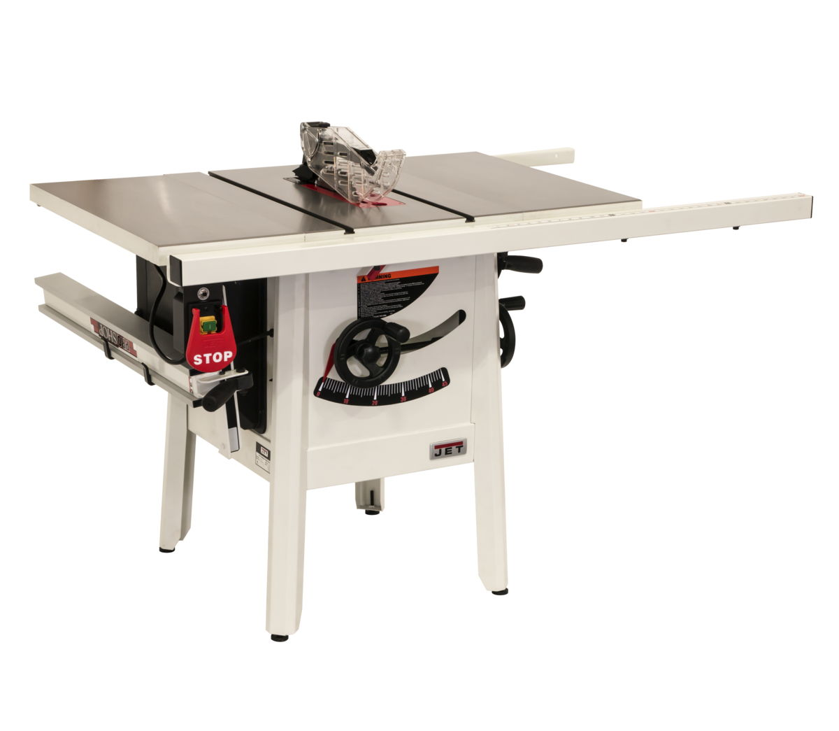JET Table Saw Proshop II Front