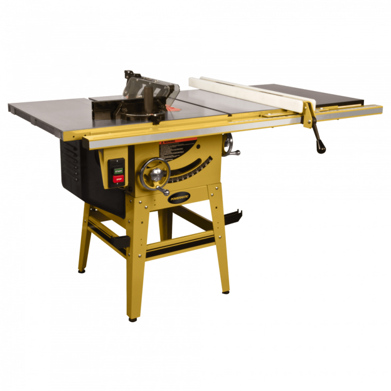 Powermatic 64B Table Saw Front