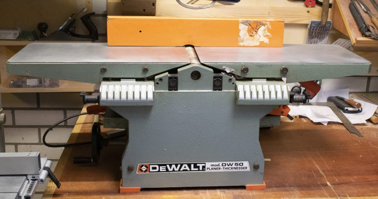 DeWalt DW50 Jointer Planer