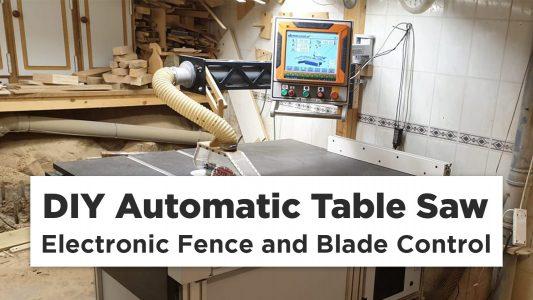 DIY Automatic Table Saw Bellevue Woodshop