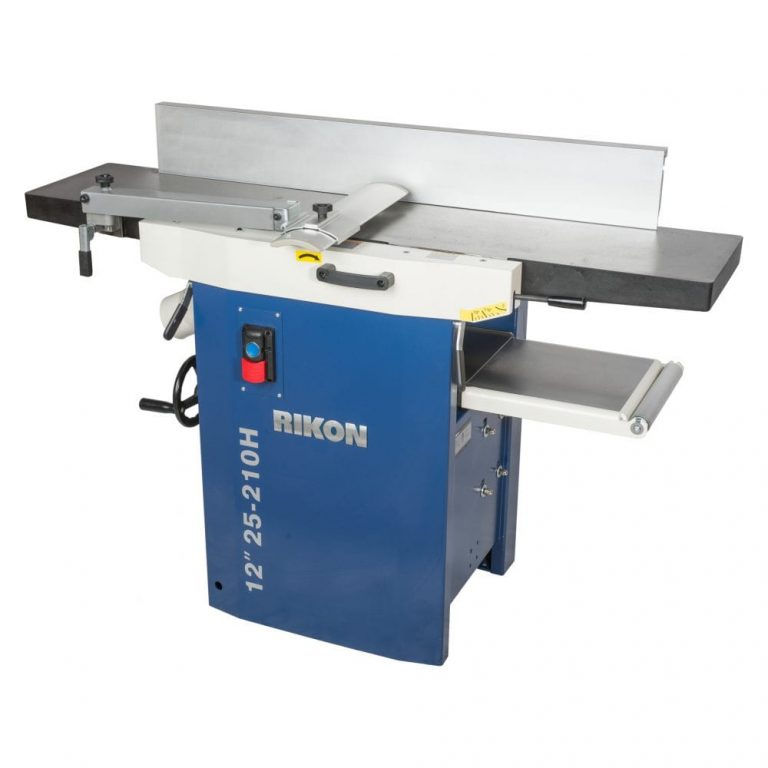 Rikon 25-201H Jointer Planer Front View