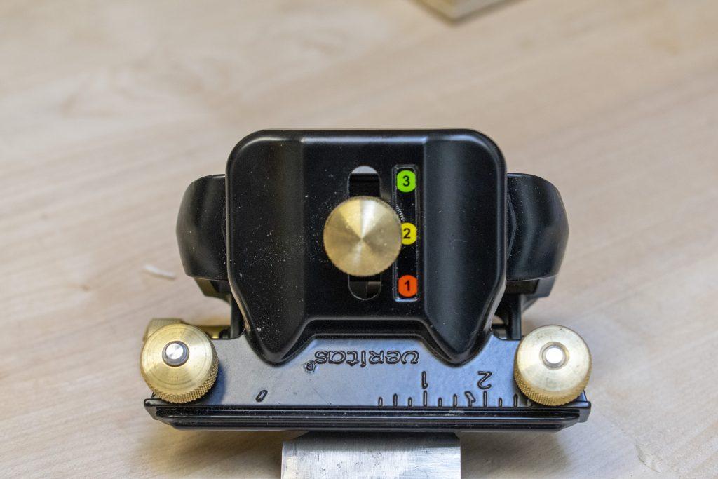 Veritas Mk II Honing Guide Angle Setting