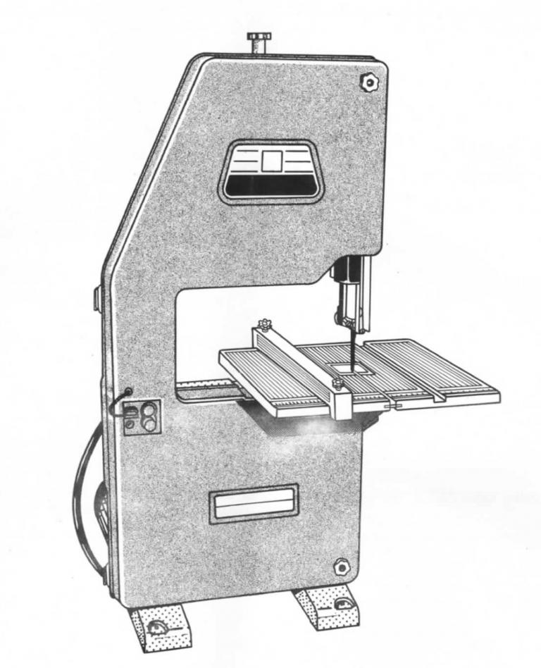 DeWalt DW3501 DW3401 Bandsaw Drawing