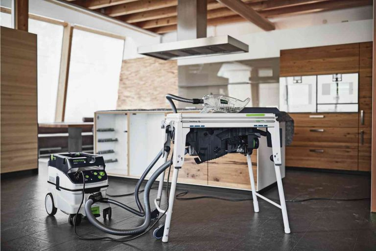 Festool TKS 80 EBS on Location