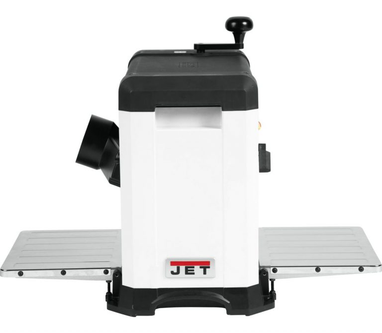 Jet 13 Benchtop Planer Helical Style Side View