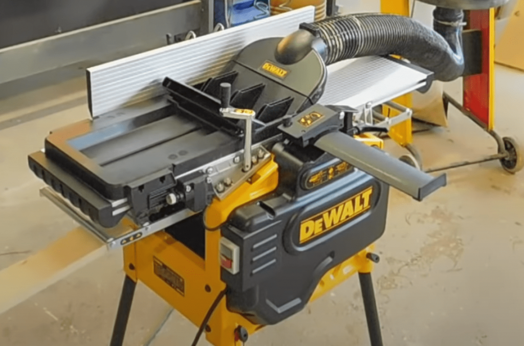 DeWalt D27300 Jointer Planer Thicknesser Dust Extraction