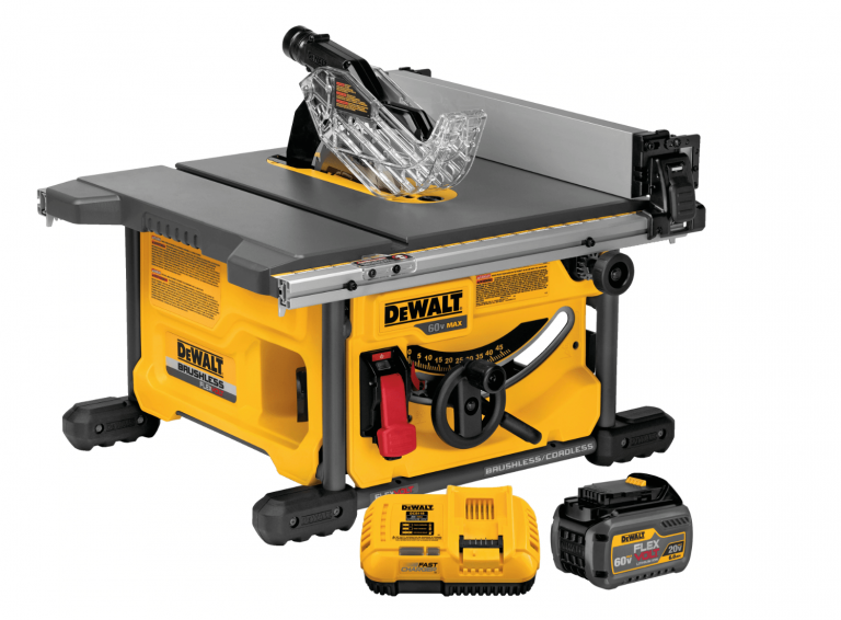 DeWalt DSC7485 Table Saw with Battery Pack