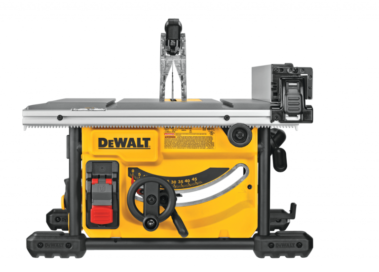 DeWalt DWE7485 Table Saw Front View