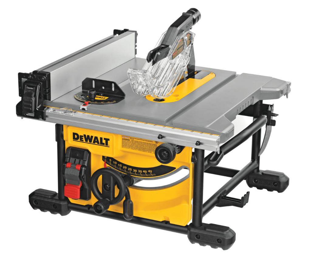DeWalt DWE7485 Table Saw Isometric View