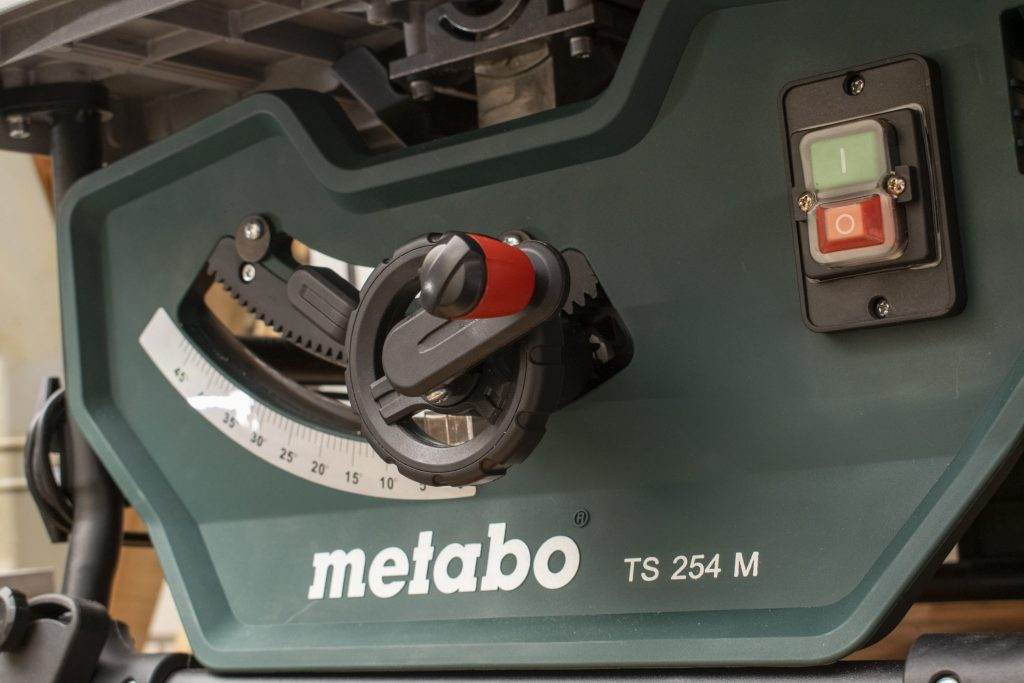 Metabo TS 254 M Table Saw Bottom Right View