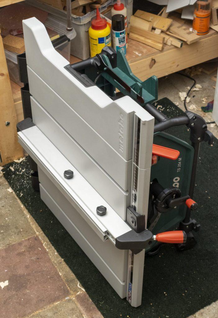 Metabo TS 254 M Table Saw Handle Portable
