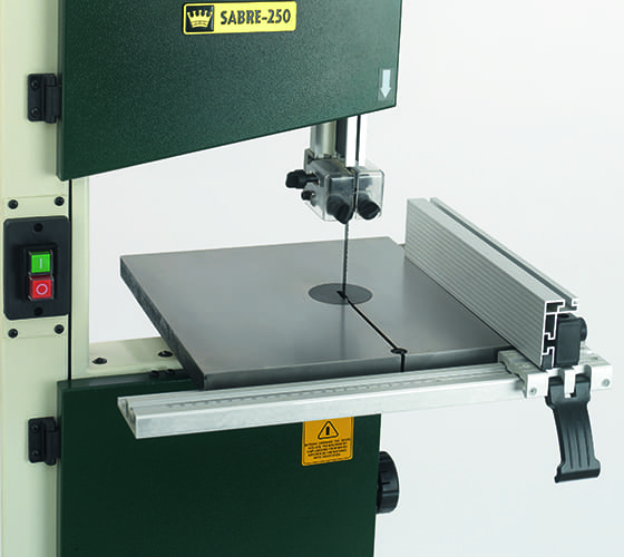 Record Power Sabre 250 Bandsaw Rip Fence