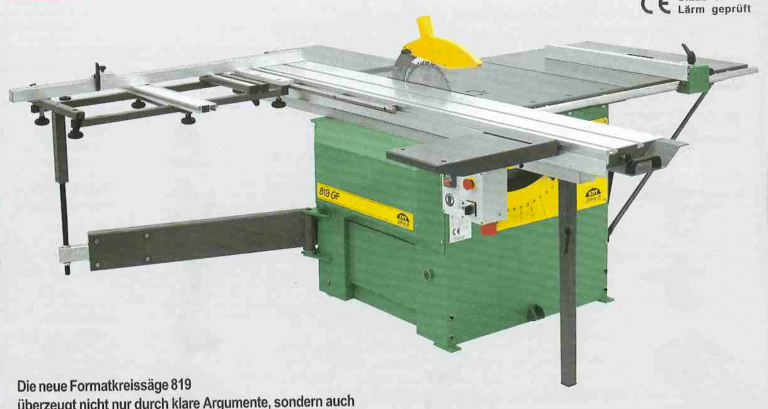 Kity 819 Sliding Table Saw