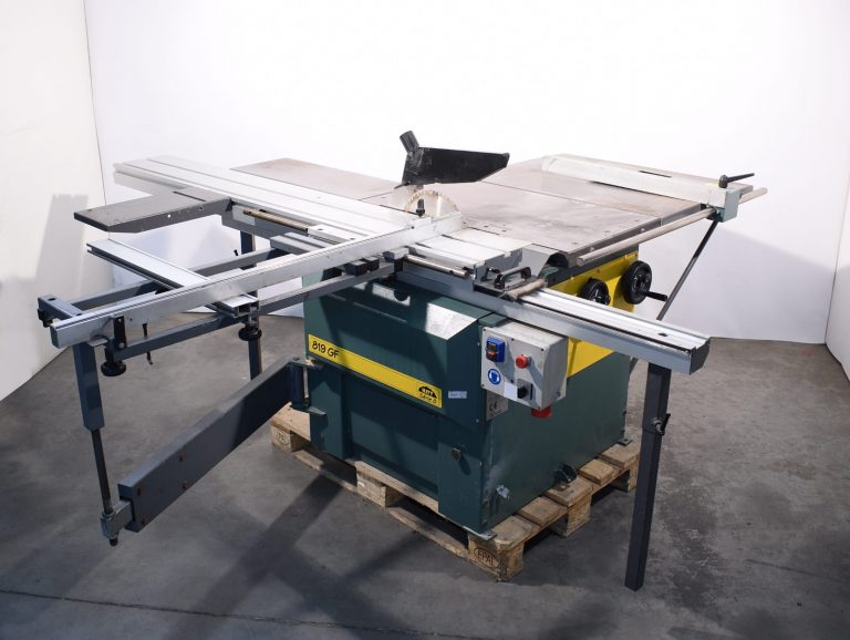 Kity 819 Sliding Table Saw Front View