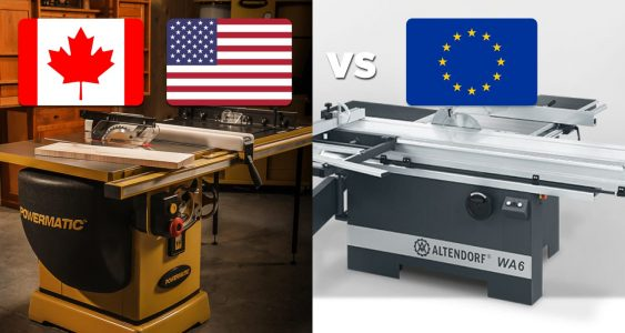 American vs European Woodworking Machines Featured Image