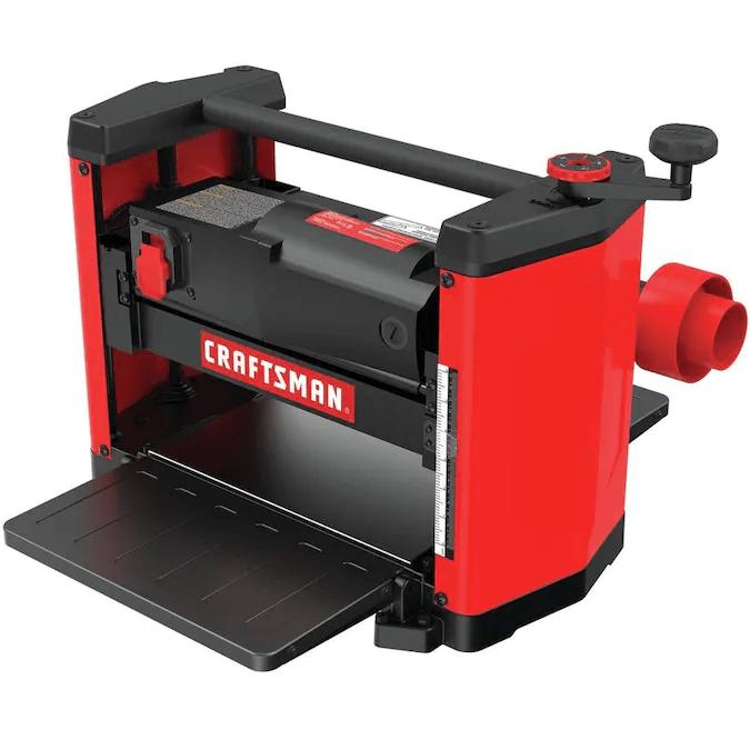 Craftsman CMEW320 15 amp benchtop planer Right